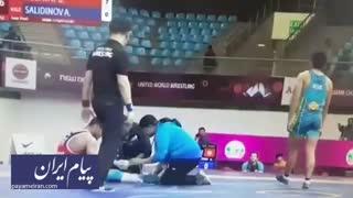 اقدام مشکوک کشتیگیر ایران در مسابقات قهرمانی آسیا