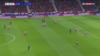 خلاصه بازی حساس اتلتیکو مادرید 1 - لیورپول 0 از مرحله حذفی لیگ قهرمانان اروپا