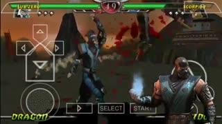 دانلود بازی مورتال کمبت Mortal Kombat 9 Final برای PSP