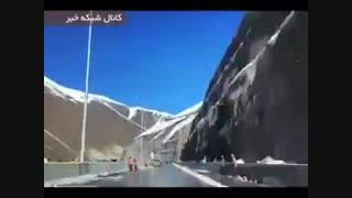 عبور از اتوبان تهران شمال در 3 دقیقه