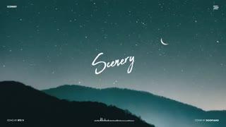 """BTS V - 풍경 (Scenery) Piano Cover"""
