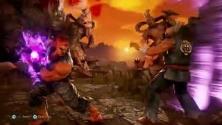 گیم پلی  آنلاین بازی Ultra Street Fighter IV توسط ادمین Qeiji /قسمت اول