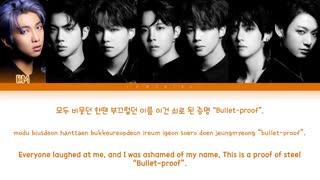 تِرَک We are Bulletproof: The Eternal   توسط بی تی اس  از آلبوم MOTS:7 ( ترجمه فارسی)