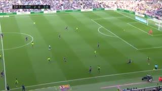 خلاصه بازی پرگل و تماشایی بازی بارسلونا 5 - ایبار 0 از هفته 25 لالیگا اسپانیا