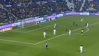 خلاصه بازی لوانته 1 - رئال مادرید 0 از هفته 25 لالیگا اسپانیا