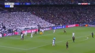 خلاصه بازی جذاب و دیدنی رئال مادرید 1 - منچسترسیتی 2 از مرحله 1/8 لیگ قهرمانان اروپا