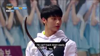 BTS vs EXO vs Seventeen, Legendary Archery Match [2017 Idol Star Athletics Championships] 