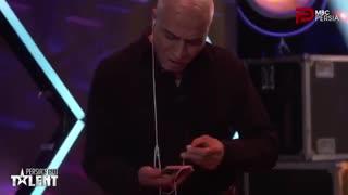 قسمت پنجم برنامه پرشیاز گات تلنت - گات تلنت ایرانی