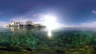 نگاهی360 درجه ای به زیبا های مالدیو