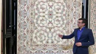 مدل پروفروش فرش ماشینی کاشان طرح خاتم 1200 شانه