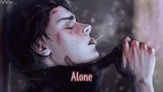 نایتکور تنها _ nightcore alone