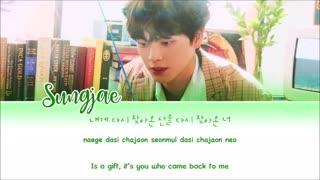 متن آهنگ Come With the Wind از YOOK Sungjae