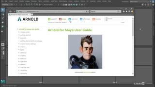 آموزش رندر با آرنولد 6 در نرم افزار مایا - پیشنمایش دوم ⭐️