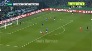 خلاصه بازی حساس و نزدیک شالکه 0 - بایرن مونیخ 1 از جام حذفی آلمان