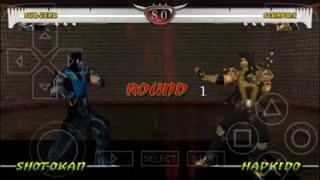 دانلود بازی مورتال کمبت Mortal Kombat XL Final برای PSP