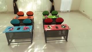 فروش ویژه میز و نیمکت دو نفره مدل ساینا