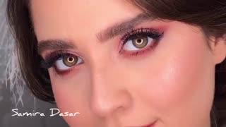 آرایش صورت با مدل سایه لایت اروپایی