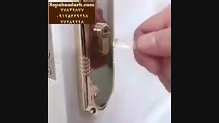 چگونه کلید شکسته  درب را بیرون بکشیم
