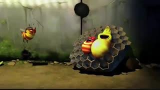 زنبور خشمگین | لاروا