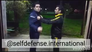 دفاع شخصی در زمان یقه گیری