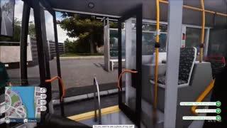 گیمپلی بازی Bus Simulator 18