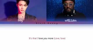 )Steve Aoki feat. Lay Zhang Yixing (EXO) & will.i.am - Love You More (Color Coded Lyrics /Eng