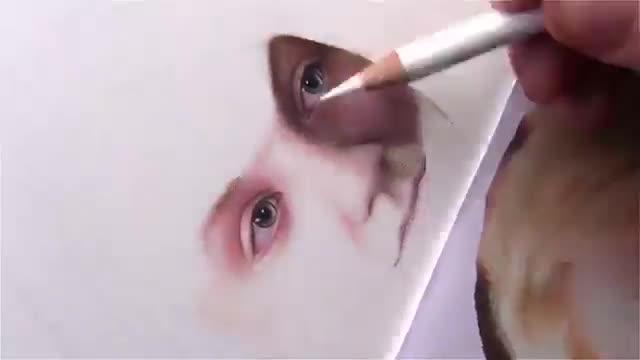 آموزش نقاشی چهره یک دختر – بخش ۱