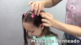 آموزش مدل مو دخترانه آبشاری- مومیس مشاور و مرجع تخصصی مو