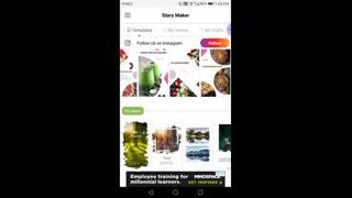 معرفی و آموزش ابزار های کمکی اینستاگرام: اپلیکیشن Story Maker