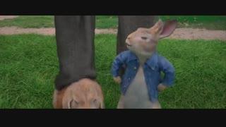 پیتر خرگوشه دوبله فارسی
