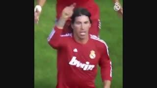به مناسب تولد 34 سالگی سرخیو راموس، رهبر متعصب رئال مادرید
