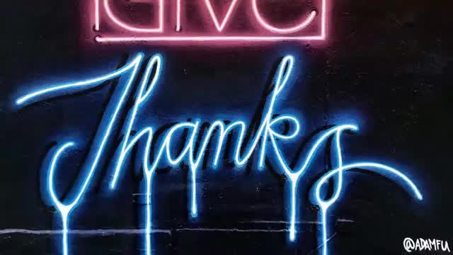 آموزش نقاشی گرافیتی دیواری مدل چراغ نئونی تبلیغاتی