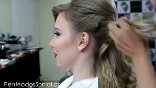 آموزش مدل مو دخترانه برای هر مجلسی- مومیس مشاور و مرجع تخصصی مو