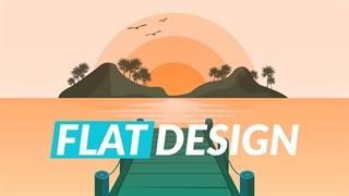 طراحی فلت : آموزش کامل Flat Design